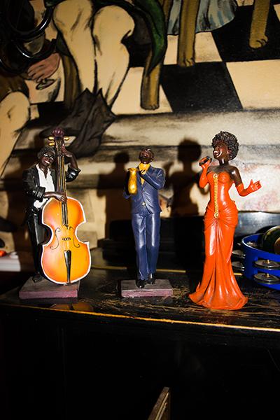 Groote Slock jazz beeldjes